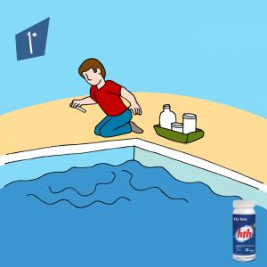 cloro para piscina - hth