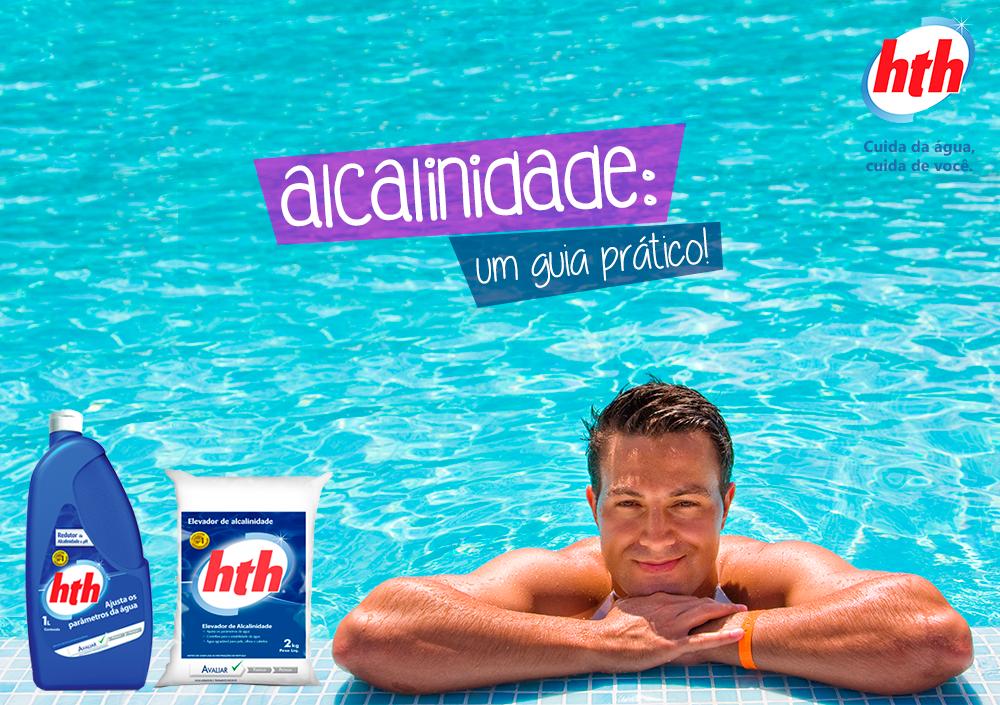 alcalinidade na piscina - hth