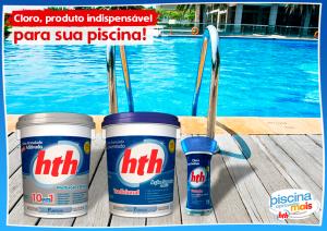 Cloro, produto indispensável para sua piscina!