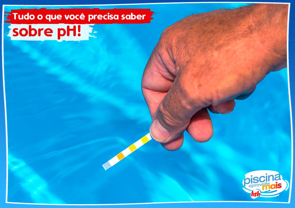 tudo sobre pH da água da piscina