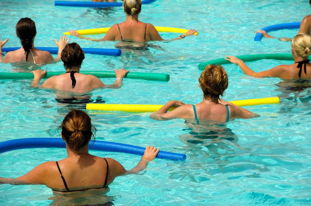 5 Exercícios na piscina