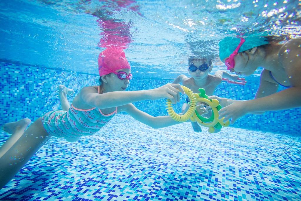 limpar a piscina - hth
