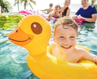 tratamento de piscina no verão - hth