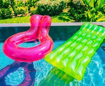 tratamento de choque na piscina hth