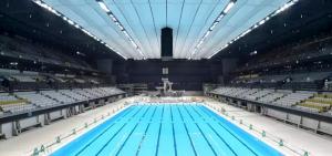 Conheça o Parque Aquático das Olimpíadas de Tokyo 2020 HTH